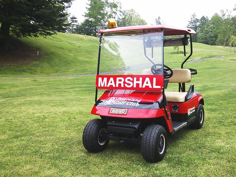 「ゴルフ マーシャル」の画像検索結果